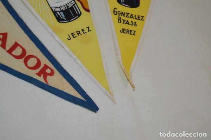 Banderines de colección: VINTAGE - Colección de 3 ANTIGUOS BANDERÍNES - Fundador / Tio Pepe y Solera 1847 -- Años 50 / 60 - Foto 8 - 210045497