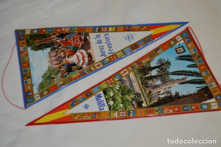 Banderines de colección: VINTAGE - Colección de 12 ANTIGUOS BANDERÍNES - De provincias de ESPAÑA -- Años 50 / 60 - Foto 2 - 210047662