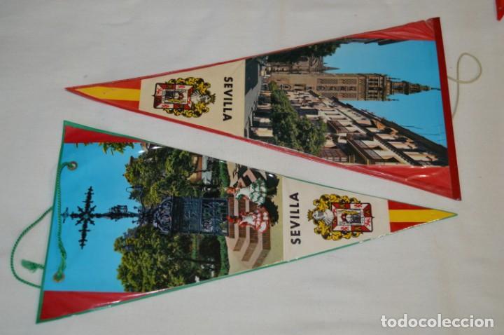 Banderines de colección: VINTAGE - Colección de 12 ANTIGUOS BANDERÍNES - De provincias de ESPAÑA -- Años 50 / 60 - Foto 3 - 210047662