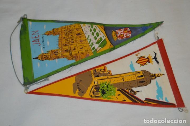 Banderines de colección: VINTAGE - Colección de 12 ANTIGUOS BANDERÍNES - De provincias de ESPAÑA -- Años 50 / 60 - Foto 5 - 210047662