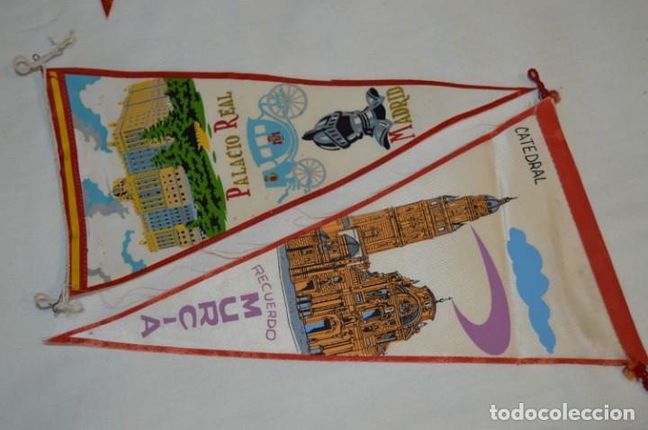 Banderines de colección: VINTAGE - Colección de 12 ANTIGUOS BANDERÍNES - De provincias de ESPAÑA -- Años 50 / 60 - Foto 6 - 210047662
