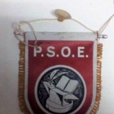 Banderines de colección: PABLO IGLESIAS P.S.O.E. ANTIGUO BANDERÍN ORIGINAL 13,5X10 APROX.. Lote 103655871