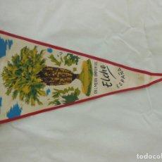 Banderines de colección: ANTIGUO BANDERÍN : HUERTO DEL CURA. PALMERA IMPERIAL, ELCHE.. Lote 214155617