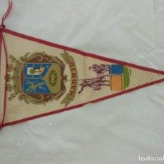 Banderines de colección: ANTIGUO BANDERÍN : MADRID. ESCUDO. DON QUIJOTE Y SANCHO PANZA. Lote 214155886