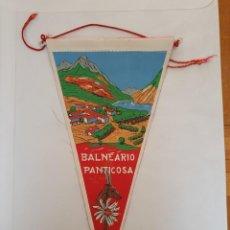 Banderines de colección: BANDERÍN BALNEARIO DE PANTICOSA. Lote 215697121