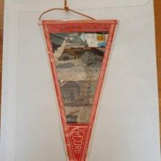 Banderines de colección: BANDERÍN PLASTIFICADO SEU D'URGELL. Lote 215697375
