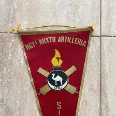 Bandierine di collezione: BANDERIN REGIMIENTO MIXTO ARTILLERIA SIDI IFNI. Lote 215726860