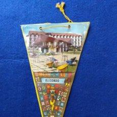 Banderines de colección: ANTIGUO BANDERIN CON PUBLICIDAD DE ELIZONDO, NAVARRA.. Lote 216358242