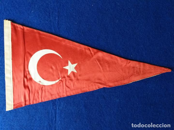 Banderines de colección: Banderín recuerdo St Sophia Museum. Istanbul. Estambul, Turquía. Tela - Foto 2 - 217520586