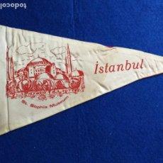 Banderines de colección: BANDERÍN RECUERDO ST SOPHIA MUSEUM. ISTANBUL. ESTAMBUL, TURQUÍA. TELA. Lote 217520586