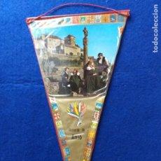 Banderines de colección: ANTIGUO BANDERIN RECUERDO DE ANSO. HUESCA. Lote 217684515