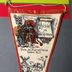 Banderines de colección: BANDERÍN MOTA DEL CUERVO. CUENCA.. Lote 218102585