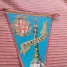 Banderines de colección: BANDERÍN, BARCELONA COLON. Lote 218766926