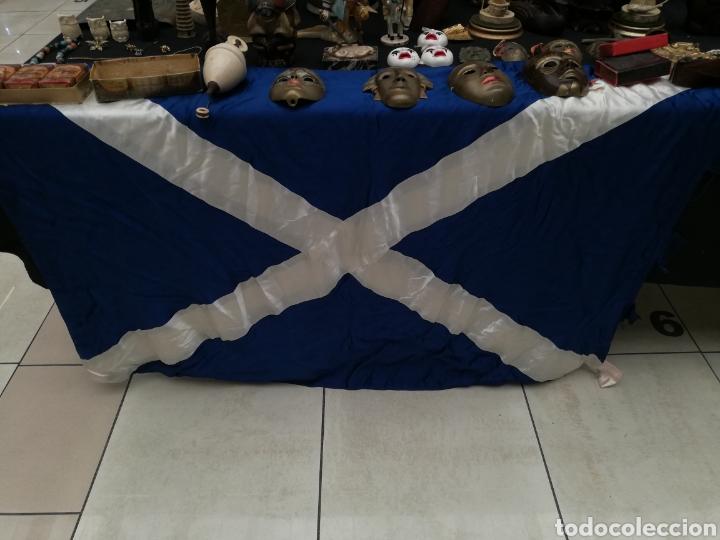 Banderines de colección: Bandera de Tenerife. Realizada estamento oficial.. NO SE UTILIZO. ES PESADA .NO ES SOUVENIR - Foto 2 - 220625585