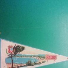 Banderines de colección: BANDERIN ESTAMPADO EN TELA DE SALOU. Lote 222480981