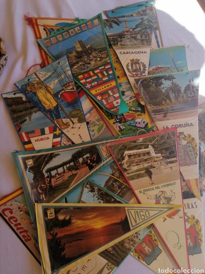 Banderines de colección: Banderínes años 60-70 varias ciudades de España, ver fotos - Foto 2 - 222786186