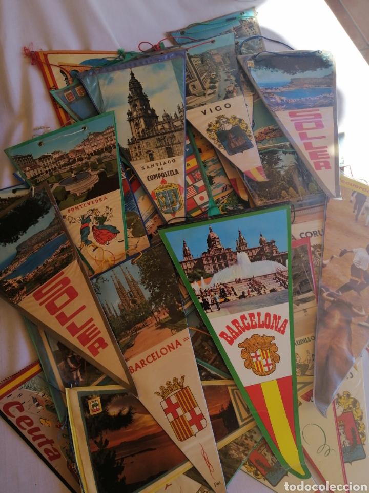 Banderines de colección: Banderínes años 60-70 varias ciudades de España, ver fotos - Foto 3 - 222786186