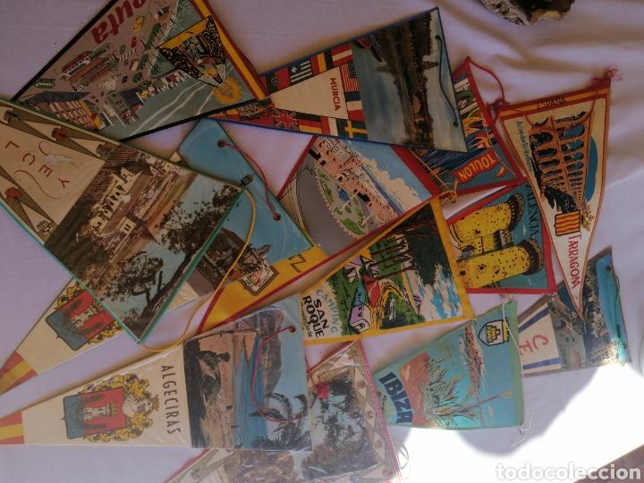 BANDERÍNES AÑOS 60-70 VARIAS CIUDADES DE ESPAÑA, VER FOTOS (Coleccionismo - Banderines)