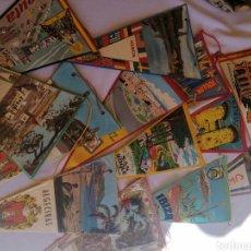 Banderines de colección: BANDERÍNES AÑOS 60-70 VARIAS CIUDADES DE ESPAÑA, VER FOTOS. Lote 222786186