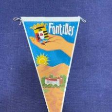 Banderines de colección: BANDERIN FONTILLES. Lote 223696552
