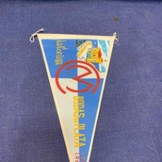 Banderines de colección: BANDERIN LA CORUÑA CLUB MARITIMO BODAS PLATA 1935 1960. Lote 223696918