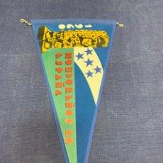 Banderines de colección: BANDERIN HONDUREÑOS EN ESPAÑA 1960. Lote 223698906