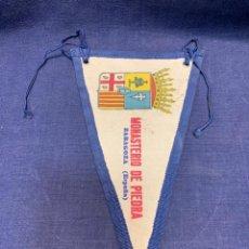 Banderines de colección: BANDERIN MONASTERIO PIEDRA ZARAGOZA. Lote 223699978
