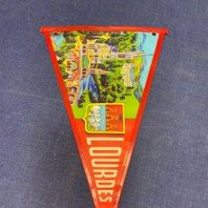Banderines de colección: BANDERIN LOURDES. Lote 223701048