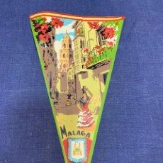 Banderines de colección: BANDERIN RECUERDO MALAGA. Lote 223701640