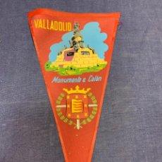 Banderines de colección: BANDERIN VALLADOLID MONUMENTO A COLON. Lote 223701901