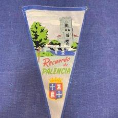 Banderines de colección: BANDERIN RECUERDO DE PALENCIA. Lote 223702101