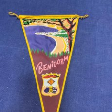 Banderines de colección: BANDERIN BENIDORM. Lote 223702278