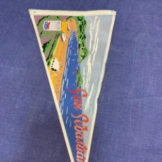 Banderines de colección: BANDERIN SAN SEBASTIAN. Lote 223702795