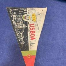 Banderines de colección: BANDERIN LISBOA PORTUGAL. Lote 223707987