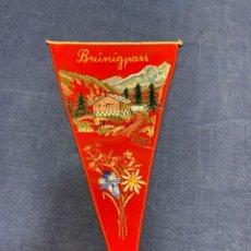 Banderines de colección: BANDERIN BRÜNIGPASS. Lote 223708088