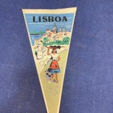 Banderines de colección: BANDERIN LISBOA PORTUGAL. Lote 223708147