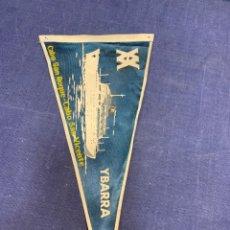 Banderines de colección: BANDERIN YBARRA SEVILLA CABO SAN ROQUE CABO SAN VICENTE. Lote 223708296