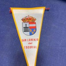 Banderines de colección: BANDERIN SAN LORENZO ESCORIAL. Lote 223710226