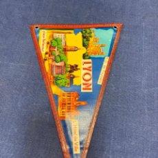 Banderines de colección: BANDERIN FRANCIA LYON. Lote 223710783