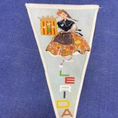 Banderines de colección: BANDERIN LERIDA. Lote 223711697