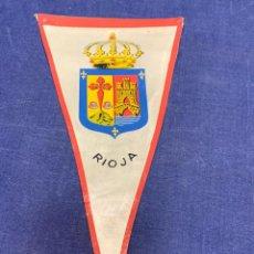 Banderines de colección: BANDERIN RIOJA. Lote 223712773