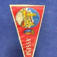 Banderines de colección: BANDERIN ITALIA ASSISI. Lote 223713271