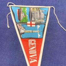 Banderines de colección: BANDERIN GENOVA ITALIA. Lote 223713495