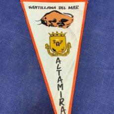 Banderines de colección: BANDERIN SANTILLANA DEL MAR ALTAMIRA. Lote 223713525