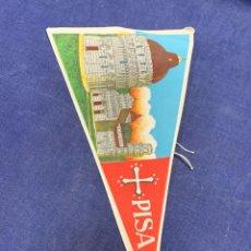 Banderines de colección: BANDERIN ITALIA PISA. Lote 223713665