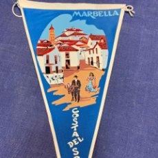Banderines de colección: BANDERIN MARBELLA COSTA DEL SOL. Lote 223720332