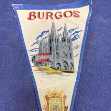 Banderines de colección: BANDERIN BURGOS. Lote 223720492