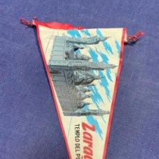Banderines de colección: BANDERIN ZARAGOZA EL PILAR. Lote 223720548