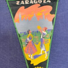 Banderines de colección: BANDERIN ZARAGOZA. Lote 223722432