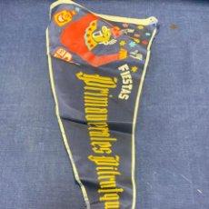 Banderines de colección: BANDERIN FIESTAS PRIMAVERALES PITRUQUEN 1955. Lote 223722572